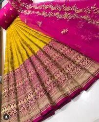South Indian Lehenga Saree