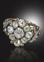 Polki Stones Uncut Diamond Ring