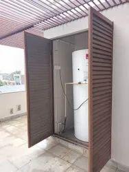 Aluminium Aluminum Livers Door, Size: 5x7