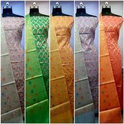Color Set Handloom Silk Cotton Suit