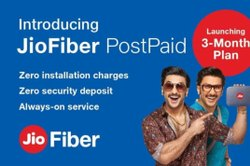Priped And Postpaid Jio Fiber Net, in LB Nagar area, Start 399 Plan To 1499 Plans