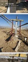 Solar Pile Load Testing