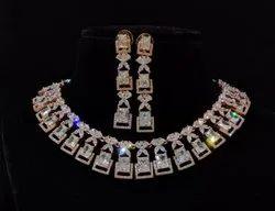 Party Necklace C Z Luxury Imitation Jewelry, Size: Standard