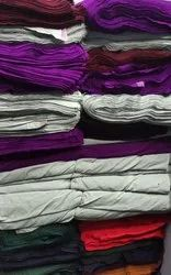 Aarey Multicolor Acrylic Plain Fabric, For Clothing, GSM: 150