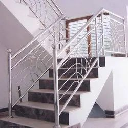 Stainless Steel Railing And Grill