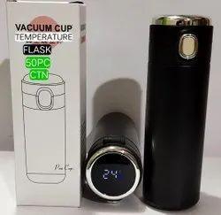 Vaccum cap temperature bottle