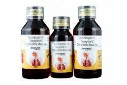 DEXONAM Dextromethorphan HBr Phenylephrine HCL Chlorpheniramine Maleate Syrup, 60 & 100ml