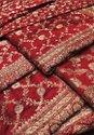 Jyoti Enterprise Wedding Wear Banarasi Pure Katan Silk Saree, 6.3 M (with Blouse Piece)