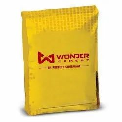 Wonder cement ppc, Packaging Size: Hdpe Bag