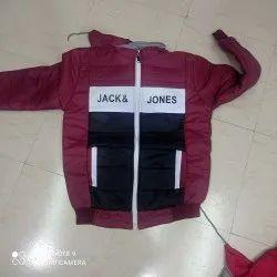 Full Sleeve Black Mens Jacket