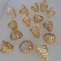 Ladies Plain Gold Ring