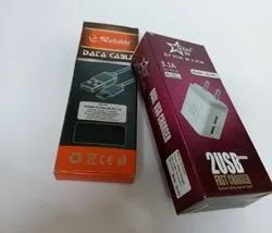 Printed Mobile Charger Packaging Box