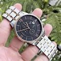 Round Tissot Mens Chronograph Watch, For Daily