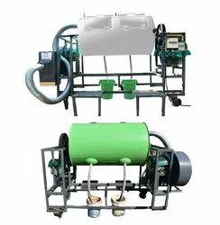 2hp 3 Phase Composting Tumbler, Model Name/Number: Tisp-01100, Capacity: 1100 kg Per Dar