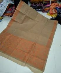Kantha Stitch Cotton Saree
