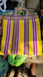 Traditional Indian market nylon shopping bags