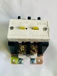 Industrial Control Power Contactor 2 Pole