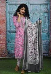 Ladies Cambric Cotton Suits