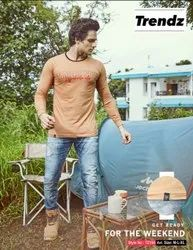 Mens Cotton Round Neck Full Sleeve T Shirts