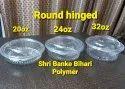 Round hinged box