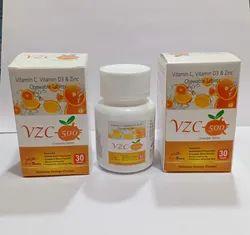 Vitamin C, Vitamin D3 and Zinc Chewable Tablet