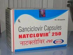 Natclovir Ganciclovir 250mg Capsule, For Clinical