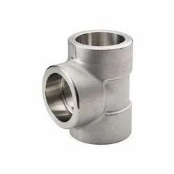 Stainless Steel Socket Weld Equal Tee