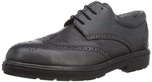Leather 6 - 11 Oxford On Air Max Safety Shoes, Industrial