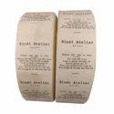 Organic Cotton Printed Label