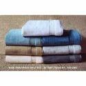 Multicolor Solid Plain Cotton Towel, Weight: 725 Gms