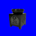 Black Soapstone Aroma lamp