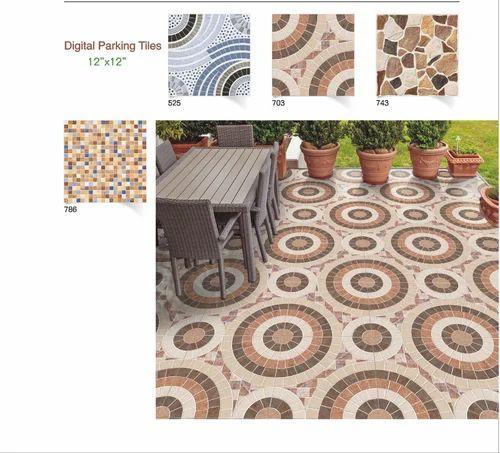 Ceramic Heavy Duty Bathroom Floor Tiles 12x12 Thickness 8 10 Mm Size Medium Rs 300 Box Id 17009281791