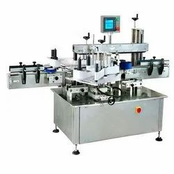 Automatic Double Sided Flat Bottle Sticker Labeling Machine