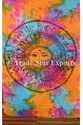 Indian Tie Dye Celestial Tapestry Wall Hanging
