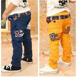 Boys Blue, Yellow Kids Jeans