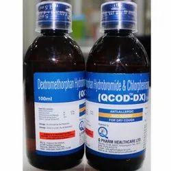 Dextromethorphan Hydrobromide and Chlorpheniramine Maleate Syrup