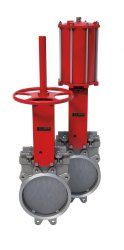 Pneumatic Lug Unidirectional Knife Gate Valve