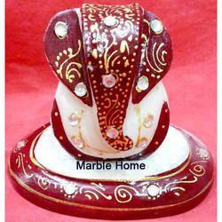 Handicraft Ganesh Marble Statue