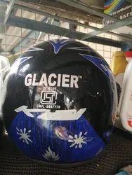 ISI Black Motorcycle Helmets, Type of Face Protection: Full Face