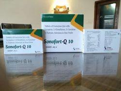 Co-Enzyme Q10  L-Carnitine  L-Gluthiaone  EPA DHA Tablet
