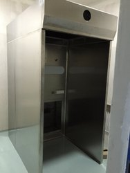Vertical Dispensing Booth