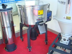 Vertical batch mixer