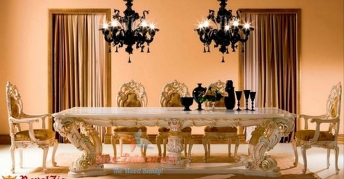 Royal Luxury Wooden Dining Table