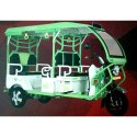 Battery Operated E Rickshaw, Vehicle Capacity: 4 Seater