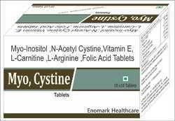 Myo-Inositol, N-Acetylcysteine, Vitamin E, L-Carnitine, L-Arginine, Folic Acid Tablets