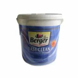 Matt Berger Easy Clean Luxury Interior Emulsion Paint, Packaging Type: Bucket, for Interior Walls