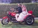 Decoration Wedding Bike Entry