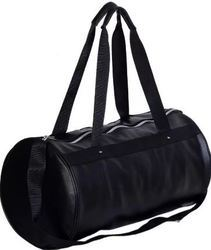 Plain Black Duffel Bag