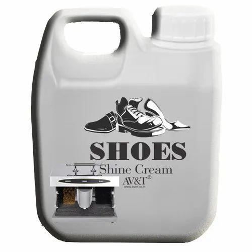 Shoe Shine Polish Cream For Machine