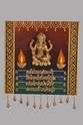 Square Mural Laxmi Mantra